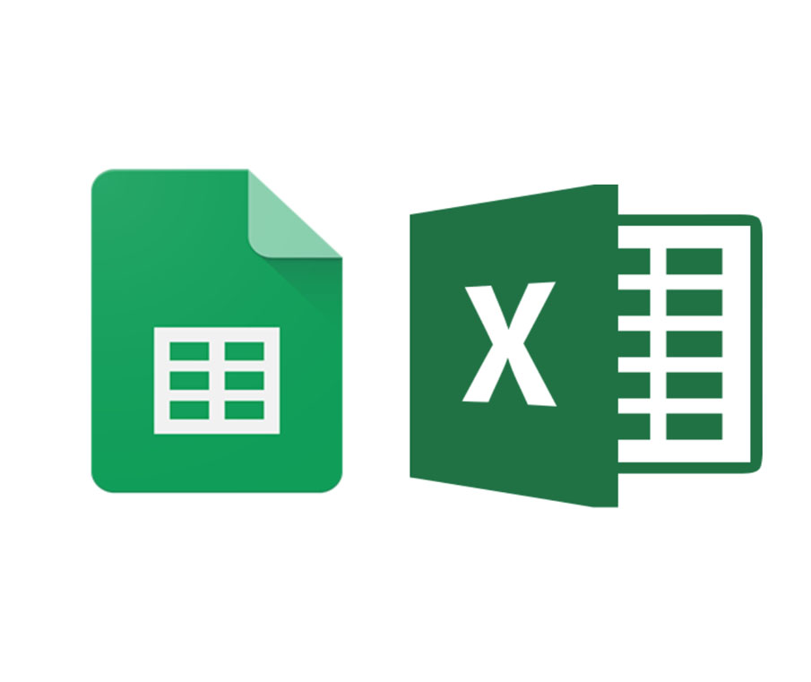 Importing questions from spreadsheets works with both Google Sheets and Microsoft Excel