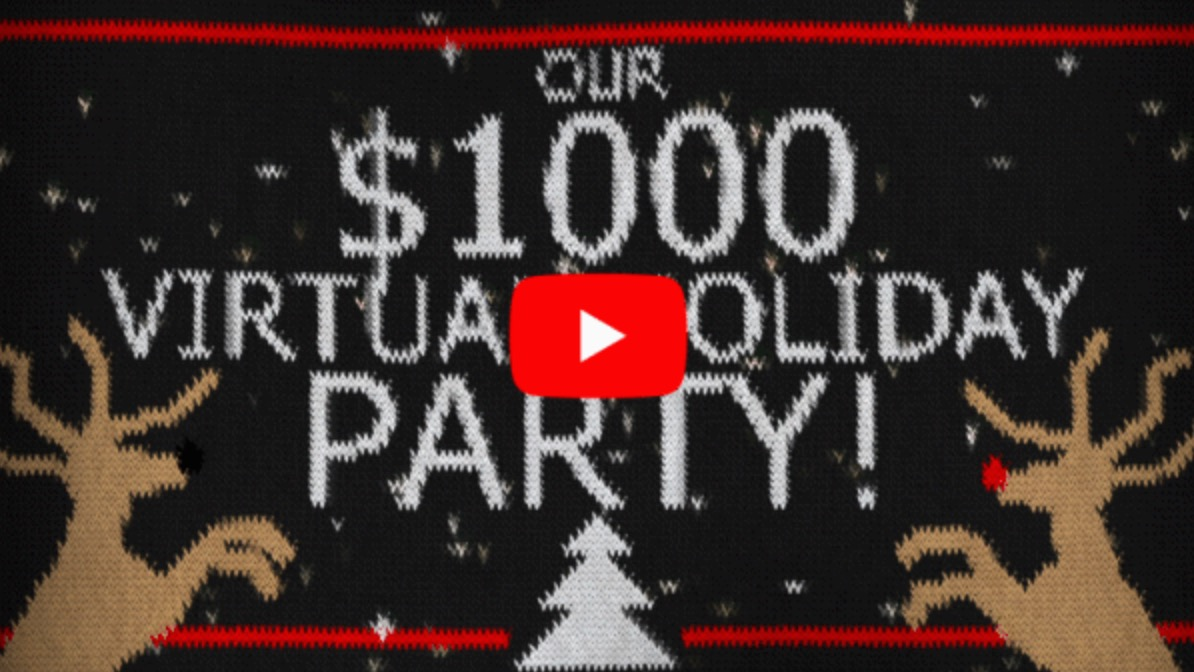 Crowdpurr's $1000 Virtual Holiday Party