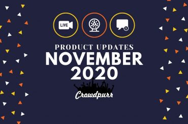 Crowdpurr Product Updates November 2020