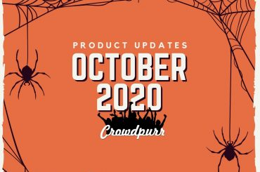 Crowdpurr Product Updates October 2020